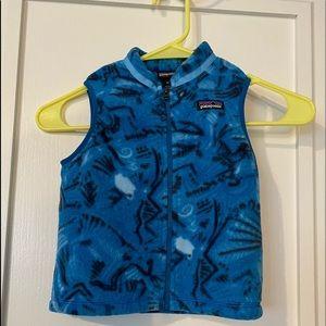 Kids Patagonia vest never worn